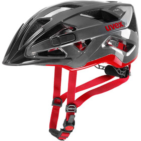 UVEX Active Helmet anthracite/red